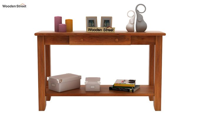 Iverson Console Table (Honey Finish)-3