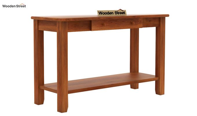 Iverson Console Table (Honey Finish)-4