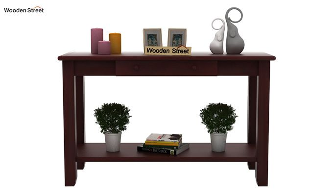 Iverson Console Table (Mahogany Finish)-2