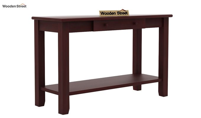 Iverson Console Table (Mahogany Finish)-3