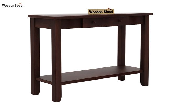 Iverson Console Table (Walnut Finish)-3