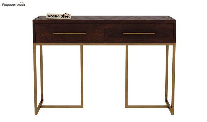 Jett Console Table (Walnut Finish)-4