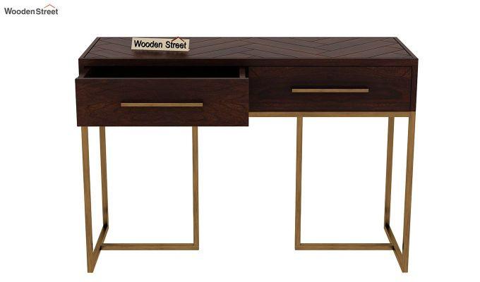Jett Console Table (Walnut Finish)-5