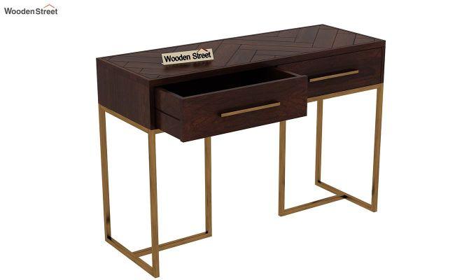 Jett Console Table (Walnut Finish)-6