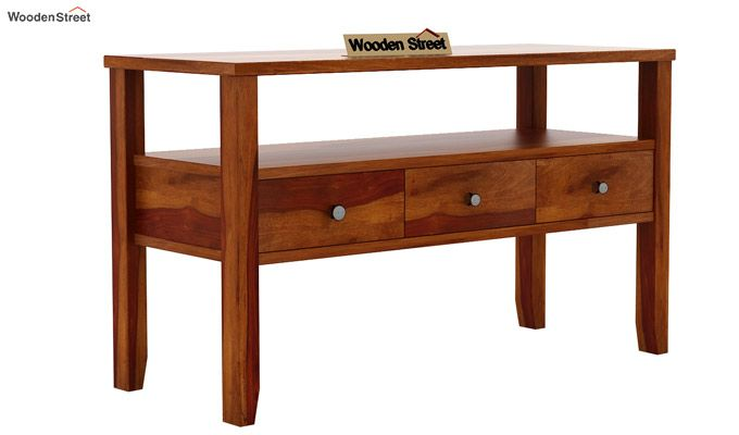 Judith Console Table (Honey Finish)-4