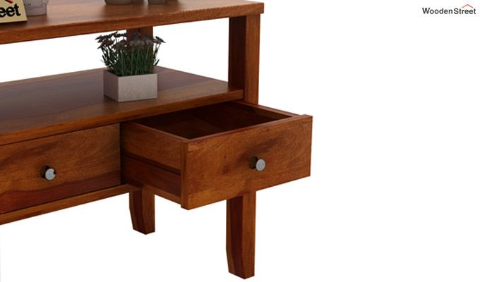 Judith Console Table (Honey Finish)-5
