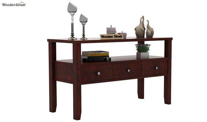Judith Console Table (Mahogany Finish)-1