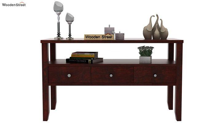 Judith Console Table (Mahogany Finish)-2