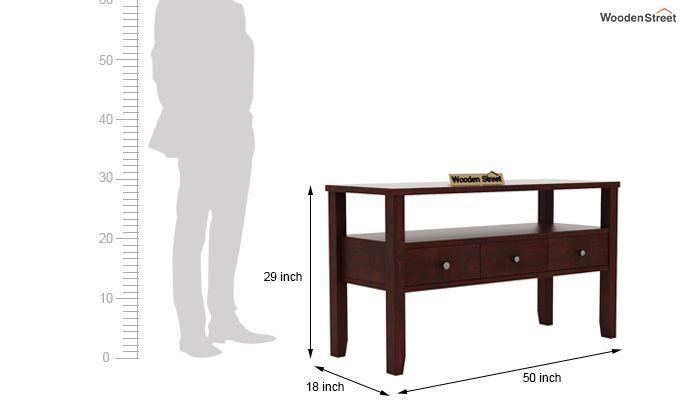 Judith Console Table (Mahogany Finish)-5