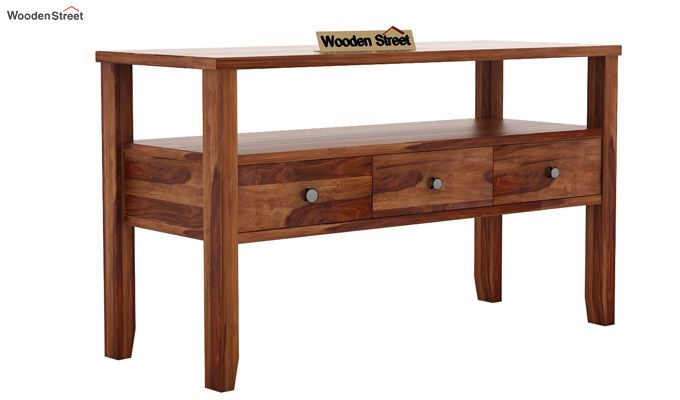 Judith Console Table (Teak Finish)-3