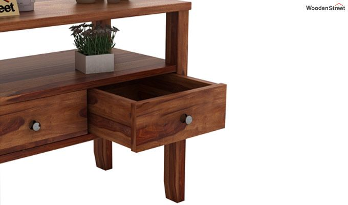 Judith Console Table (Teak Finish)-4