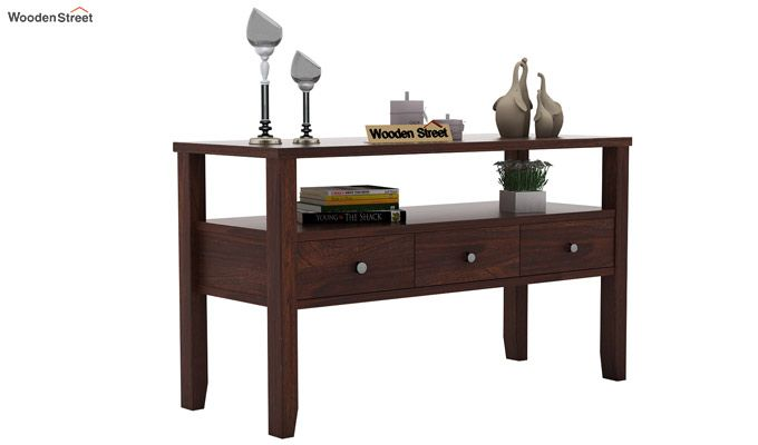 Judith Console Table (Walnut Finish)-1