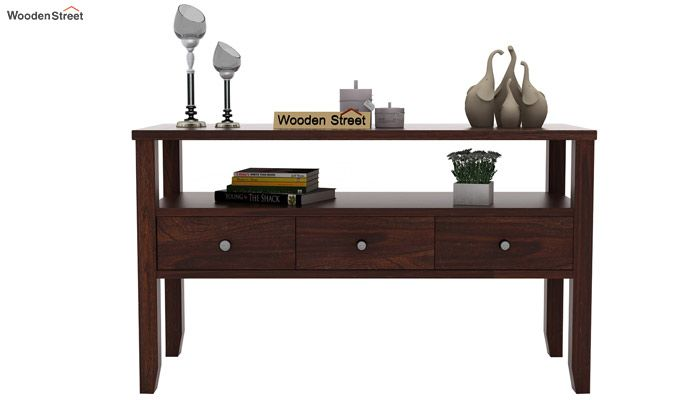 Judith Console Table (Walnut Finish)-2