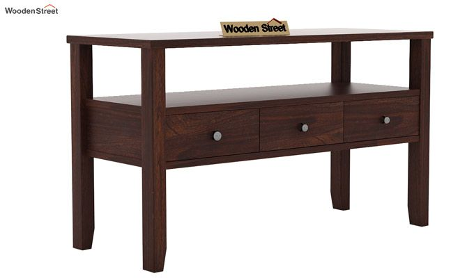 Judith Console Table (Walnut Finish)-3