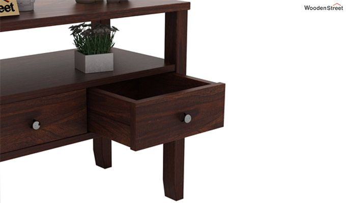 Judith Console Table (Walnut Finish)-4