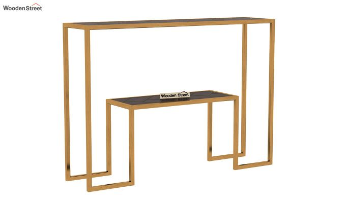 Ladon Console Table (Walnut Finish)-3