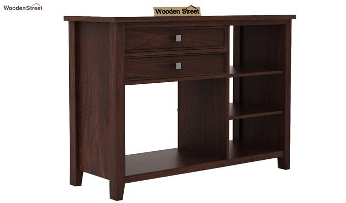 Lester Console Table (Walnut Finish)-3