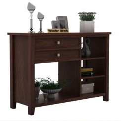 Lester Console Table (Walnut Finish)