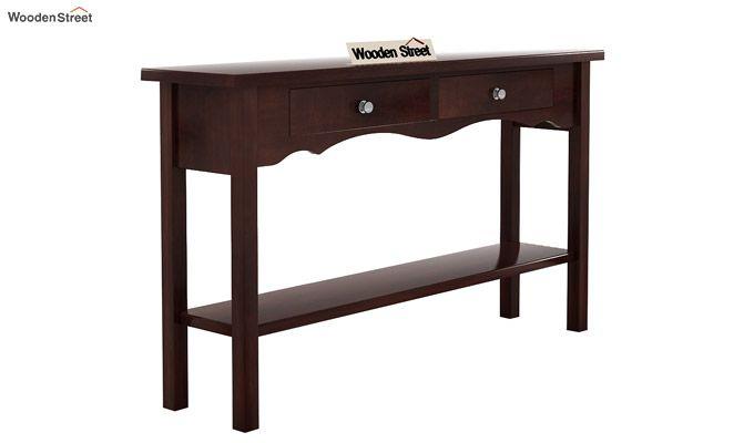 Loriat Console Table (Walnut Finish)-4