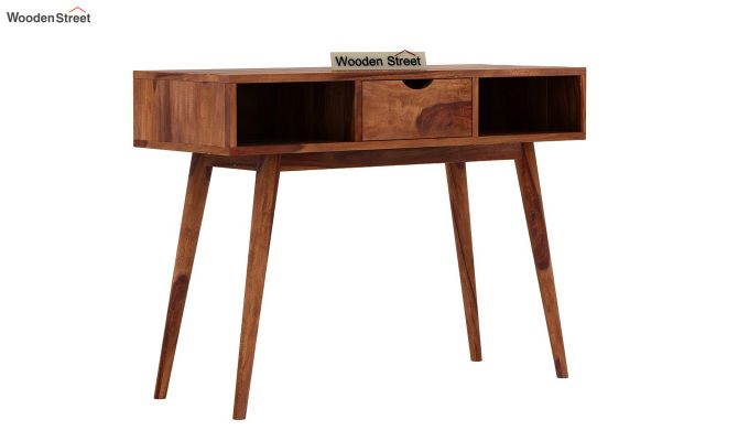 Lynton Console Table (Teak Finish)-2