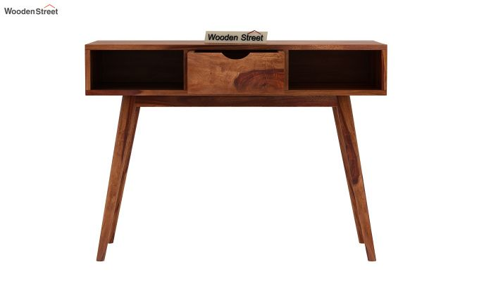 Lynton Console Table (Teak Finish)-5