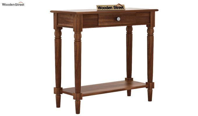 Maudal Console Table (Teak Finish)-4
