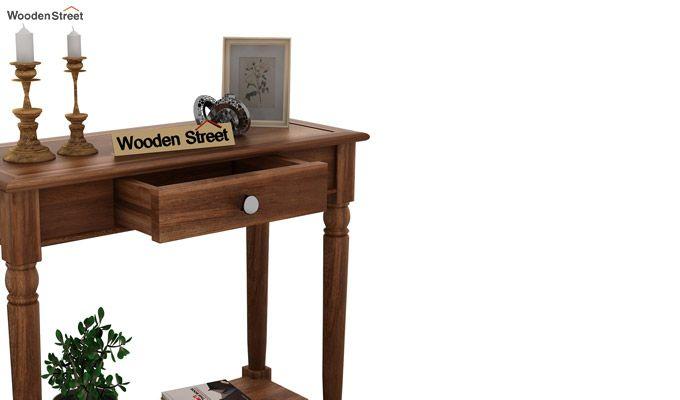 Maudal Console Table (Teak Finish)-5