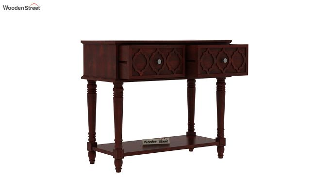 Montana Console Table (Mahogany Finish)-4