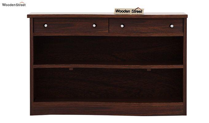 Morkel Console Table (Walnut Finish)-4