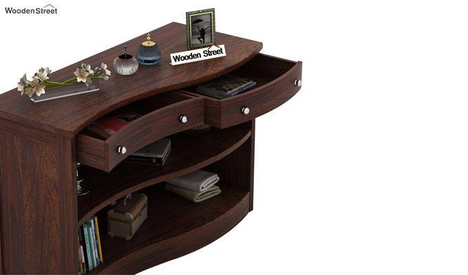 Morkel Console Table (Walnut Finish)-5