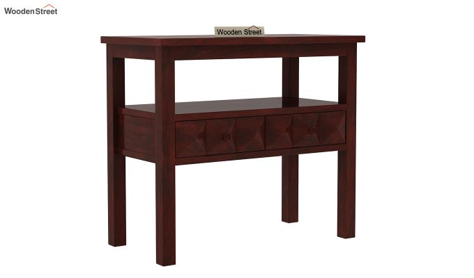 Morse Console Table (Mahogany Finish)-2