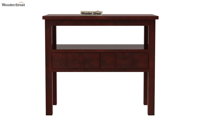 Morse Console Table (Mahogany Finish)-3