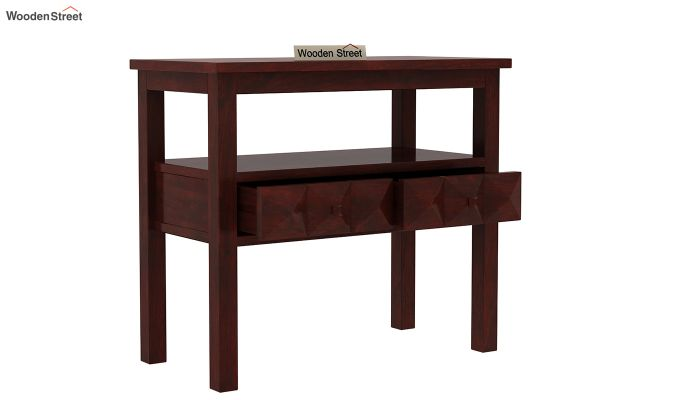 Morse Console Table (Mahogany Finish)-4