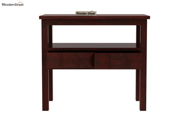 Morse Console Table (Mahogany Finish)-5
