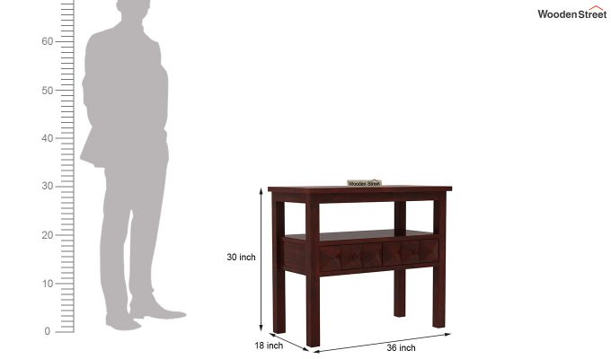 Morse Console Table (Mahogany Finish)-6