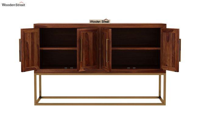 Oscar Console Table (Teak Finish)-6
