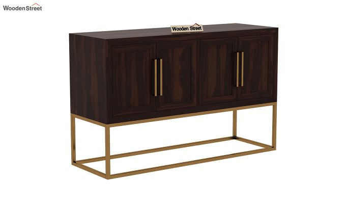 Oscar Console Table (Walnut Finish)-3