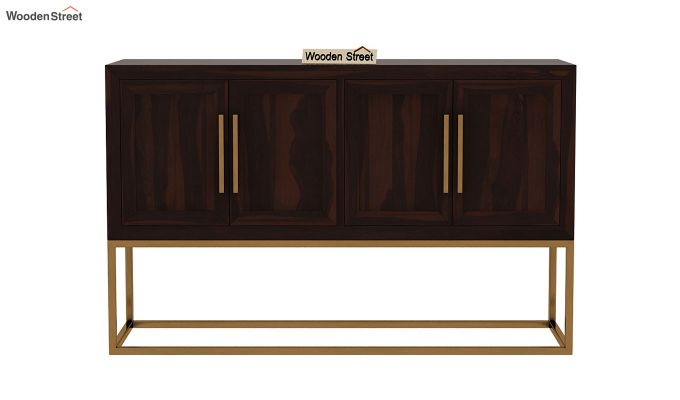 Oscar Console Table (Walnut Finish)-4