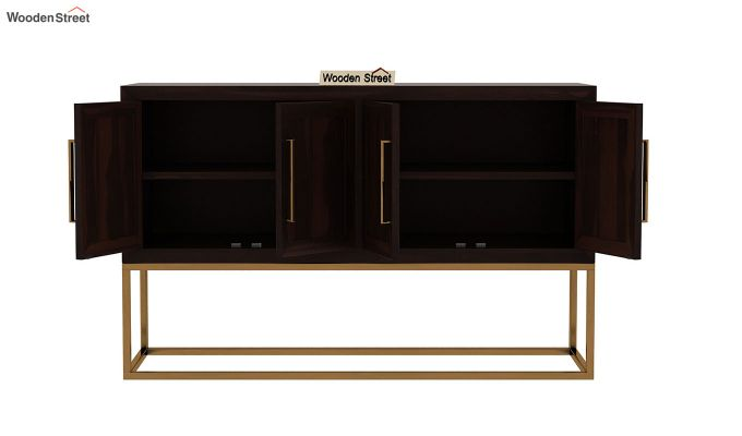 Oscar Console Table (Walnut Finish)-6