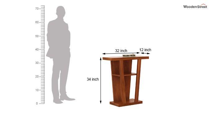 Petrov Console Table (Honey Finish)-4
