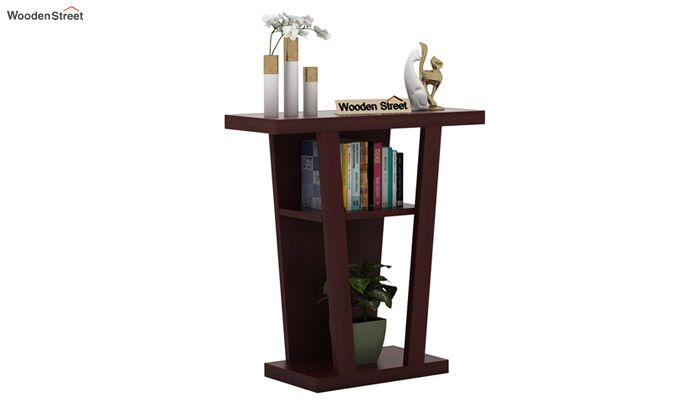 Petrov Console Table (Mahogany Finish)-1
