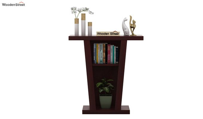 Petrov Console Table (Mahogany Finish)-2