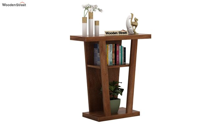 Petrov Console Table (Teak Finish)-2