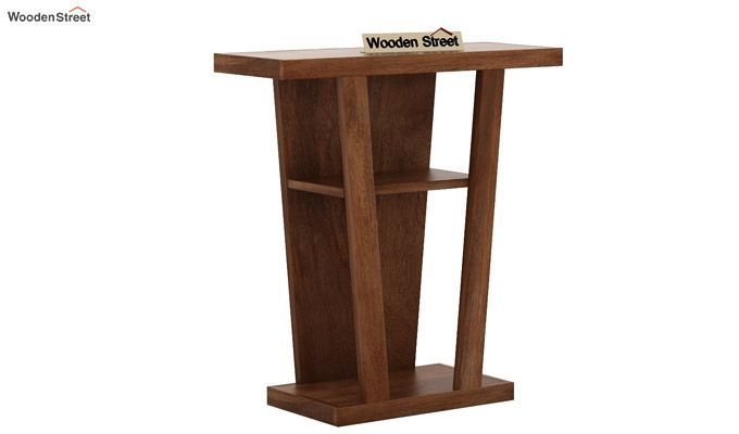 Petrov Console Table (Teak Finish)-4