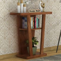 Petrov Console Table (Teak Finish)