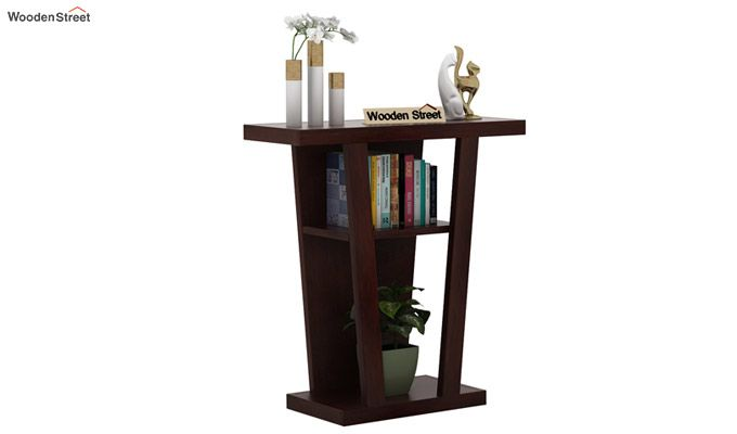 Petrov Console Table (Walnut Finish)-1