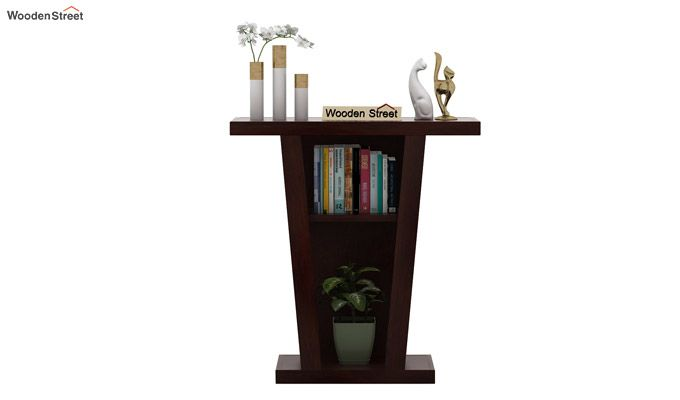 Petrov Console Table (Walnut Finish)-2