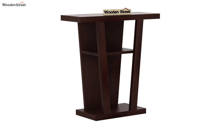 Petrov Console Table (Walnut Finish)-3
