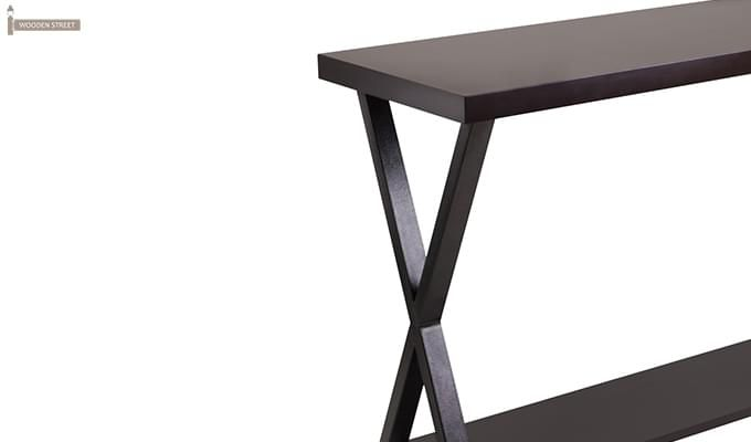 Porter Console Table (Black Finish)-2