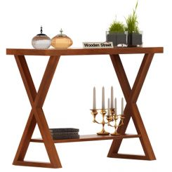 Porter Console Table (Honey Finish)